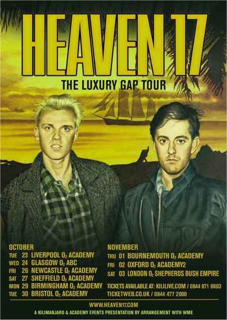 THE LUXURY GAP TOUR POSTER